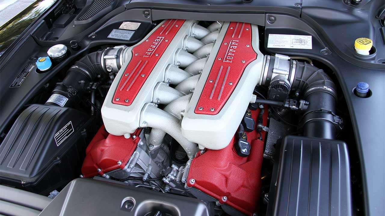 Двигатель Феррари 599 ГТБ Фиорано