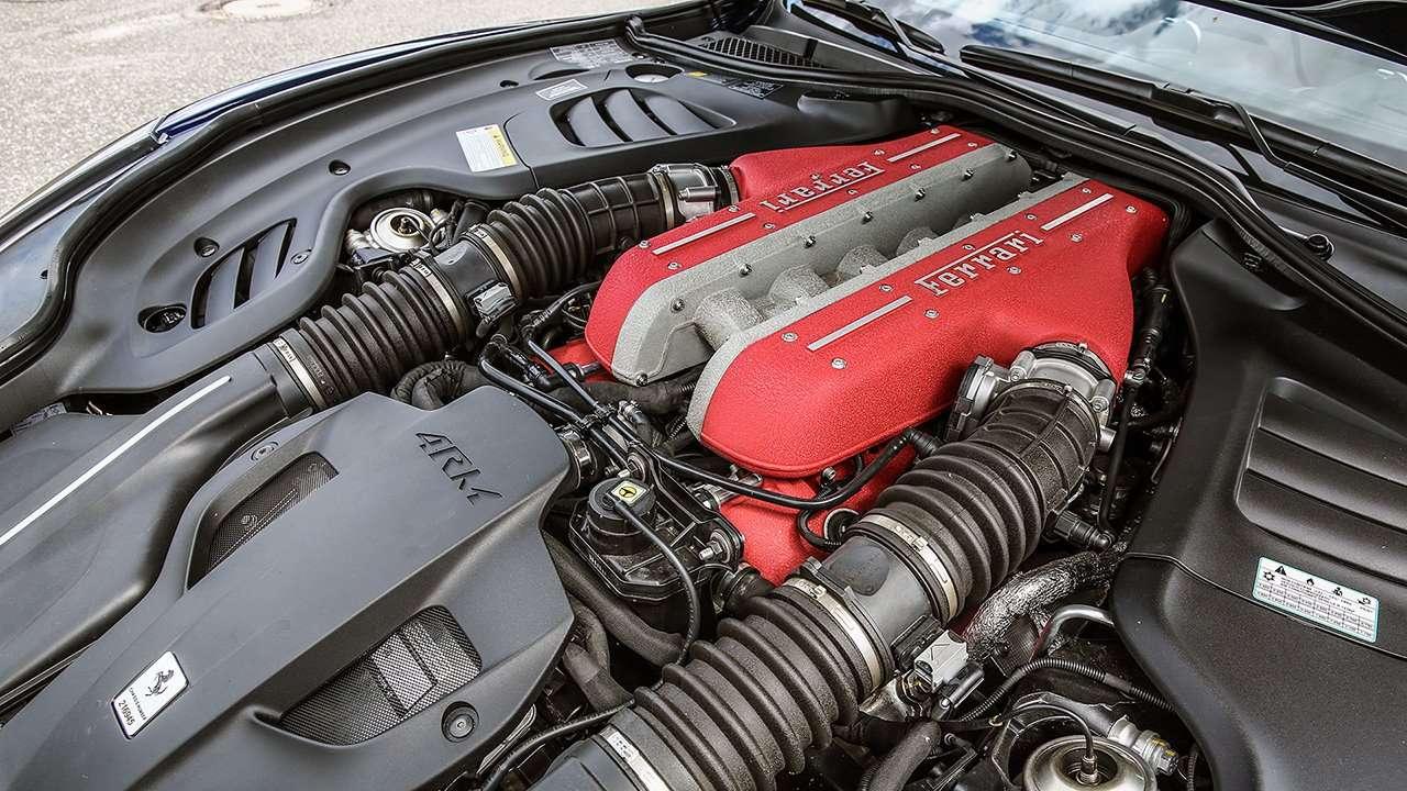 Двигатель Ferrari GTC4Lusso (2018-2019)