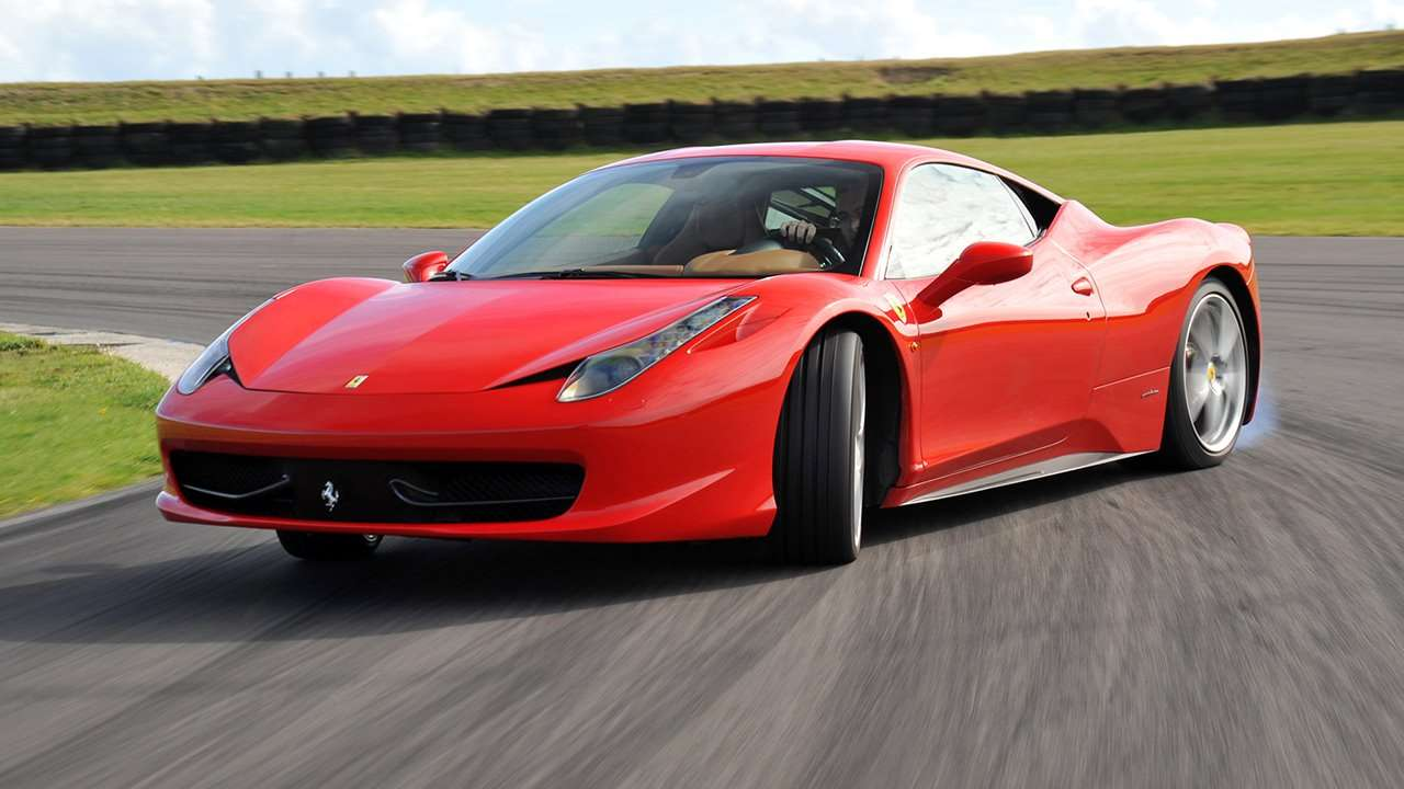 Ferrari 458 Italia фото дрифт