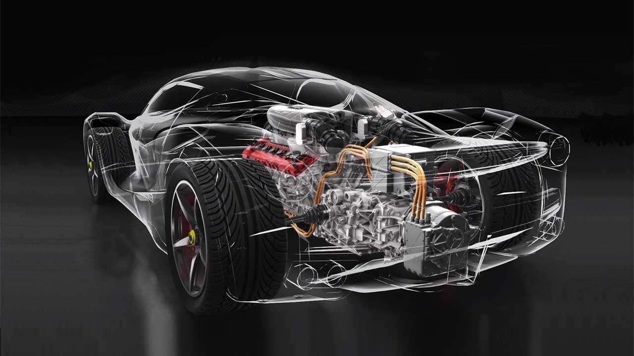 Техническая начинка Ferrari ЛяФеррари