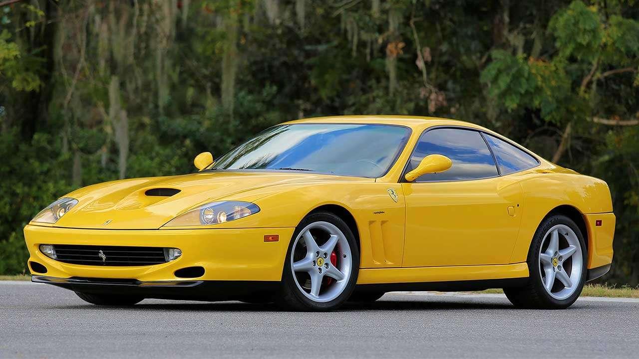 Ferrari 550 Maranello фото спереди