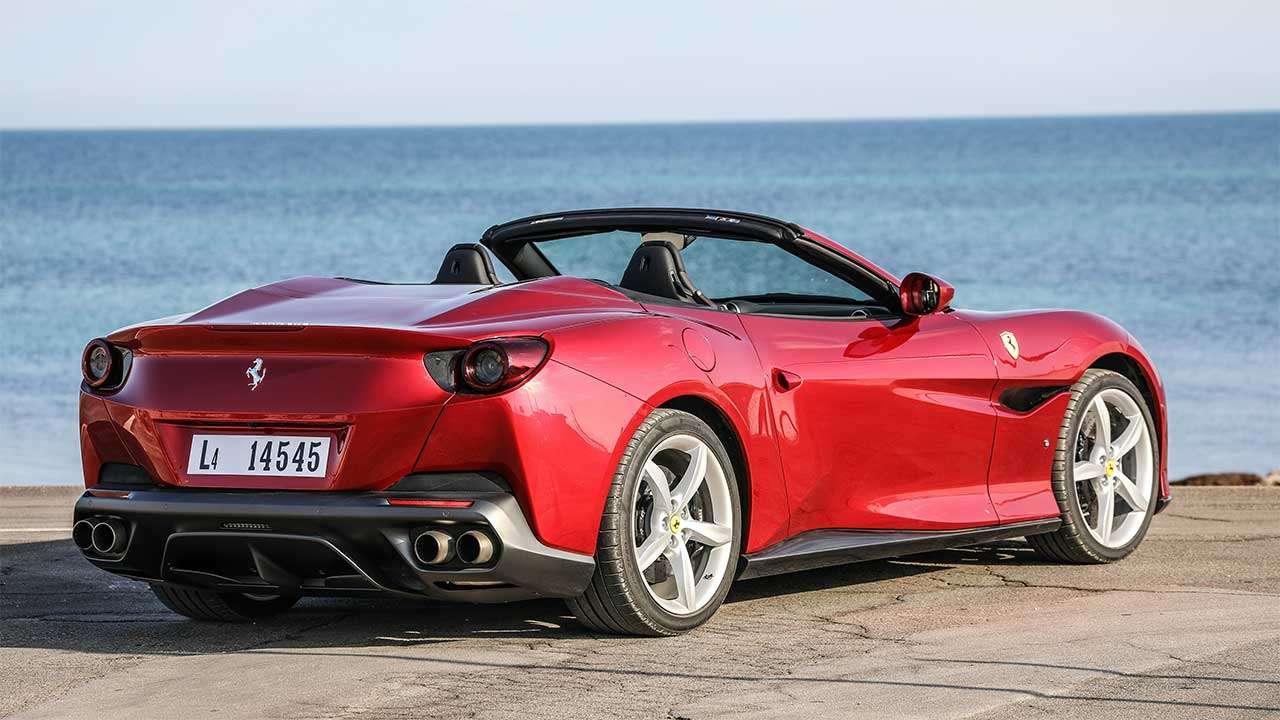 Ferrari Portofino 2019-2020 фото сзади