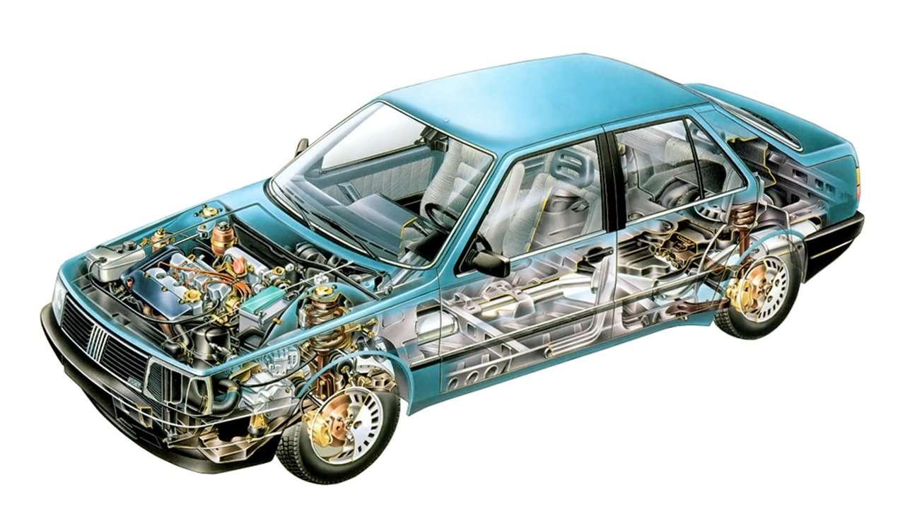 Двигатель Fiat Croma 154