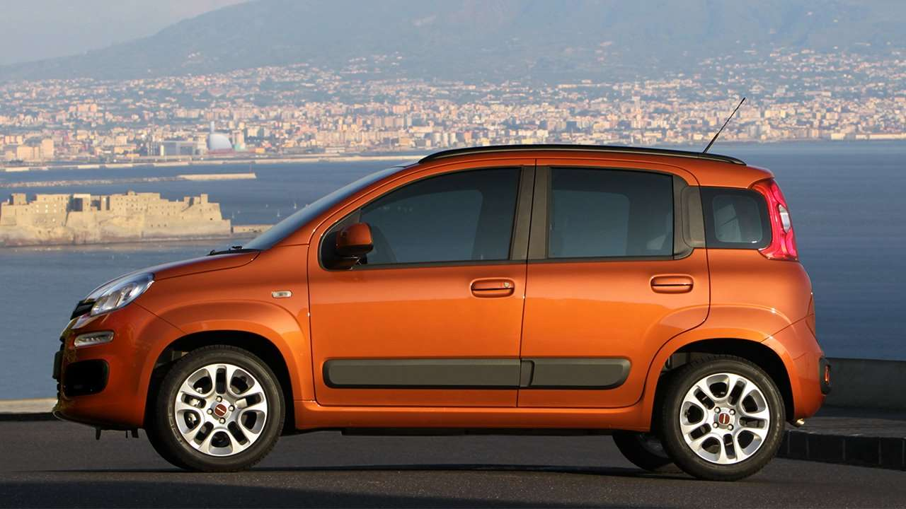 Боковая часть Fiat Panda 2019-2020