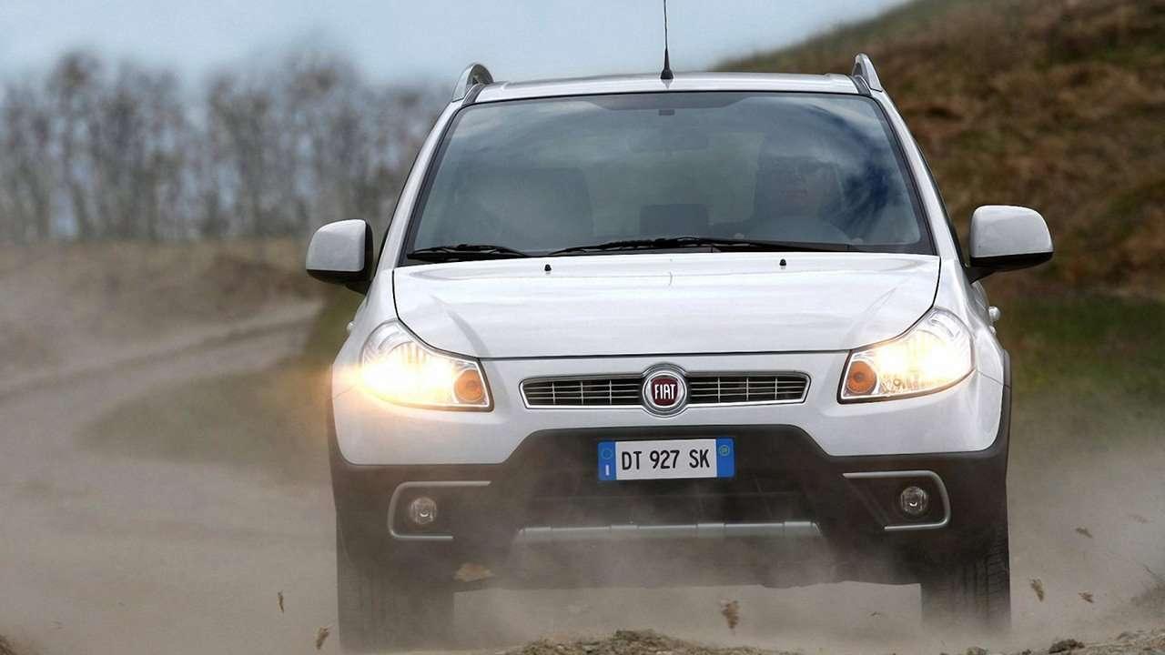 Передок Fiat Sedici
