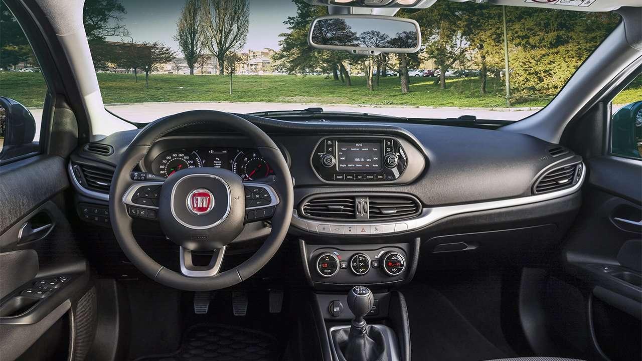 Салон Fiat Tipo 2019-2020