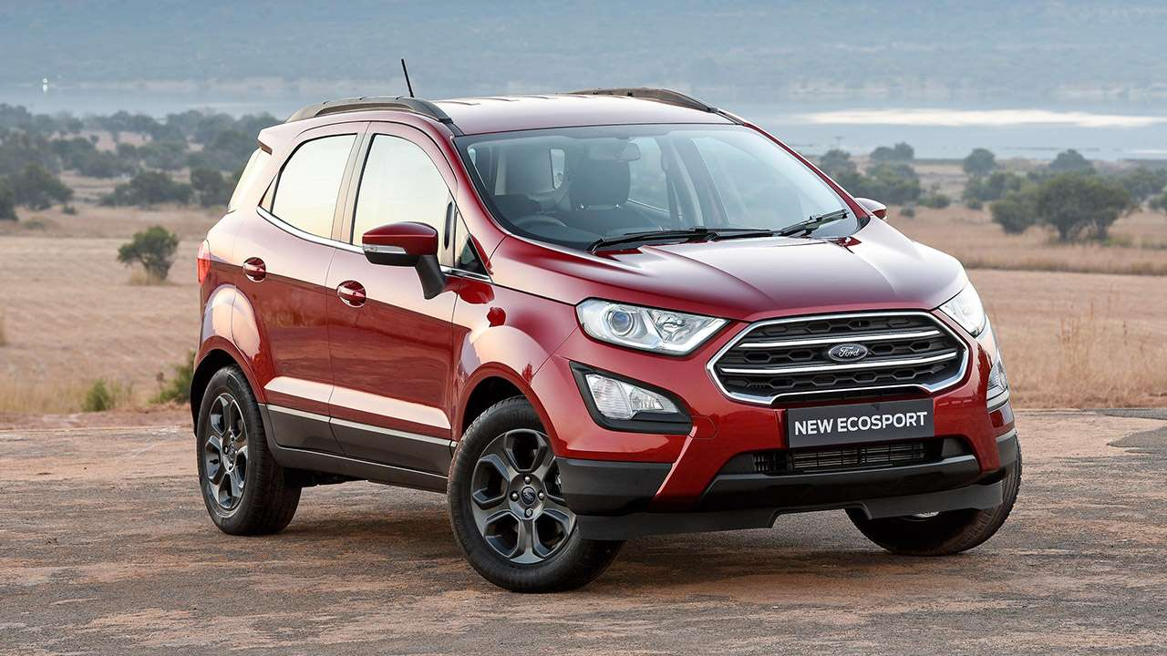 Фото нового Ford Ecosport 2019-2020