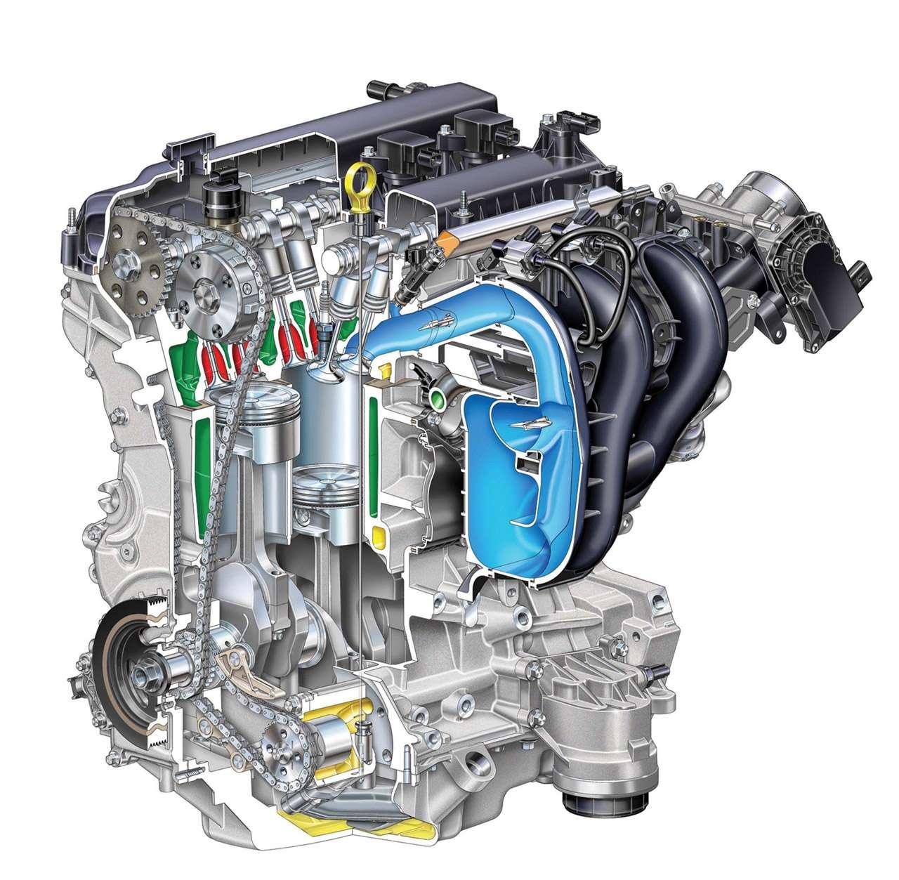2-литровый двигатель