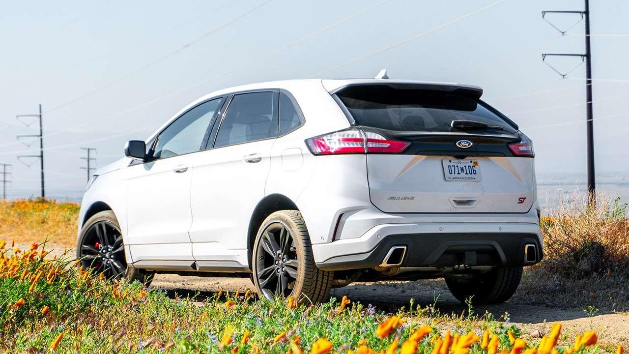 Корма нового Ford Edge ST
