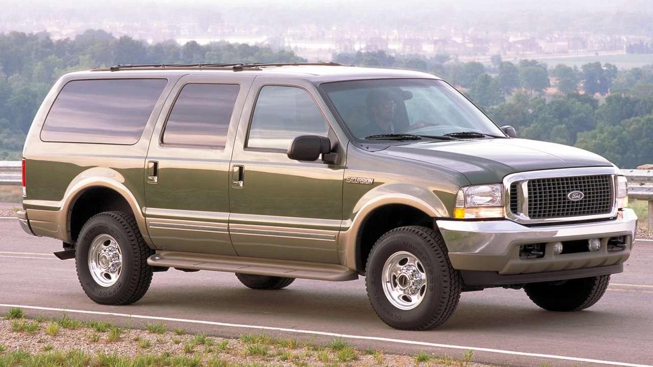 Ford Excursion фото спереди