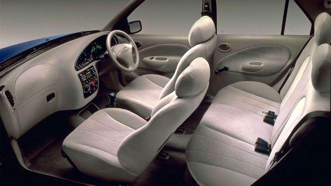 Все сиденья Ford Fiesta Mk4