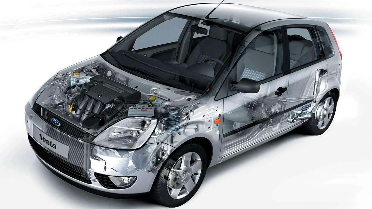 Форд Фиеста Мк6 в разрезе