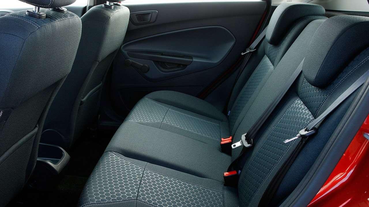 Задний диван Fiesta Mk7