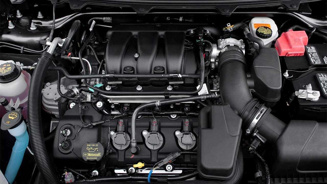 Фото двигателя Ford Флекс