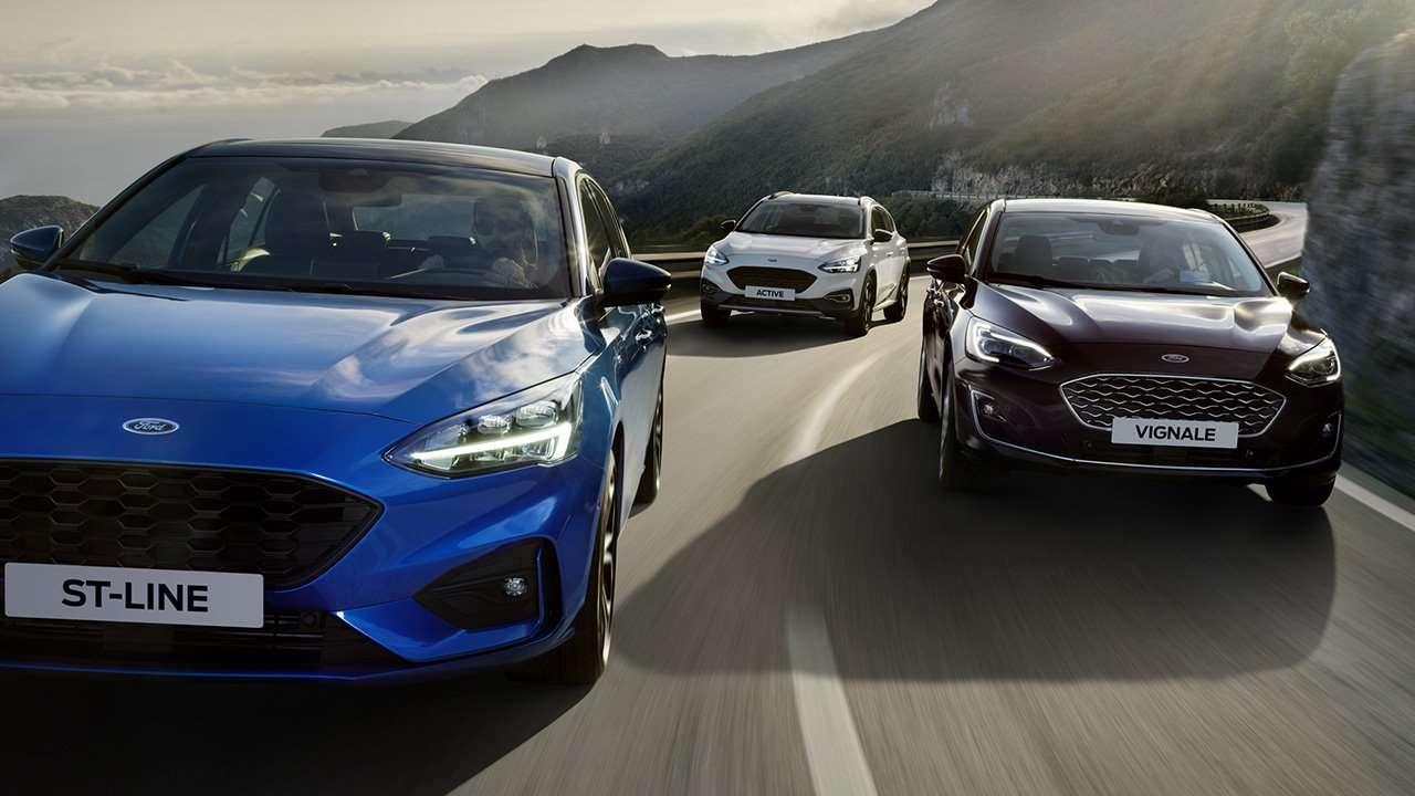 Три кузова четвертого Ford Focus
