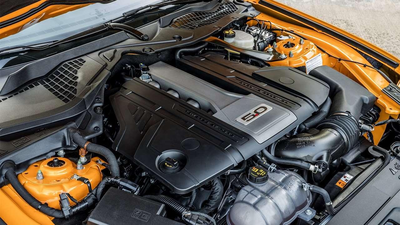 5-литровый мотор Форд Мустанг