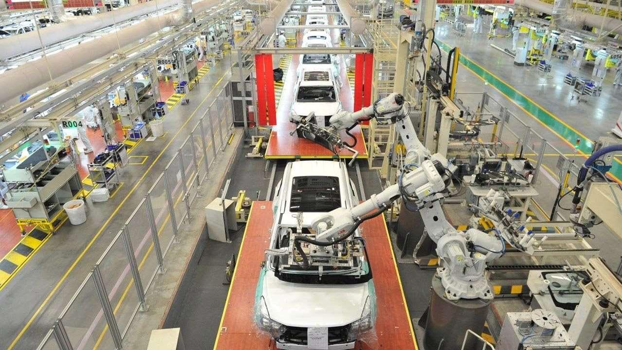 Завод GAC в Китае