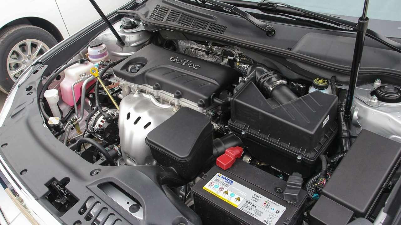 Двигатель Джили Эмгранд ЕС8