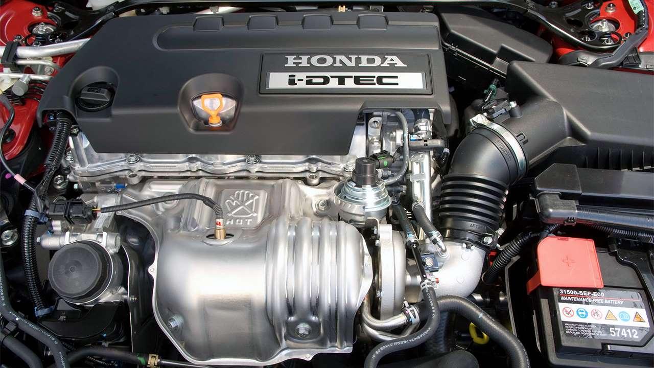 2,4-литровый двигатель Accord 8