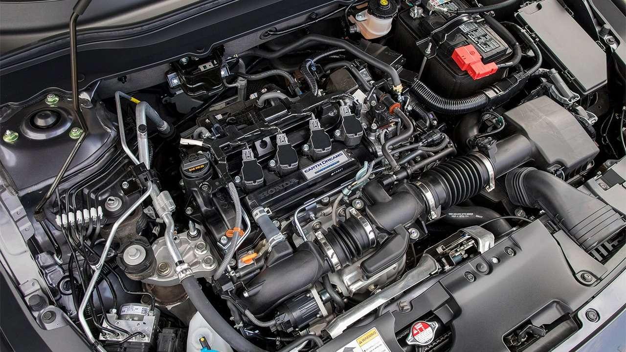 Фото двигателя нового Аккорда