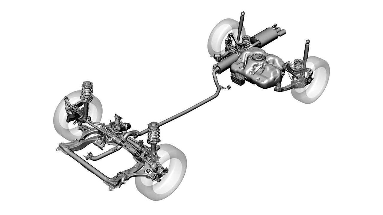 Схема подвески Цивик 8