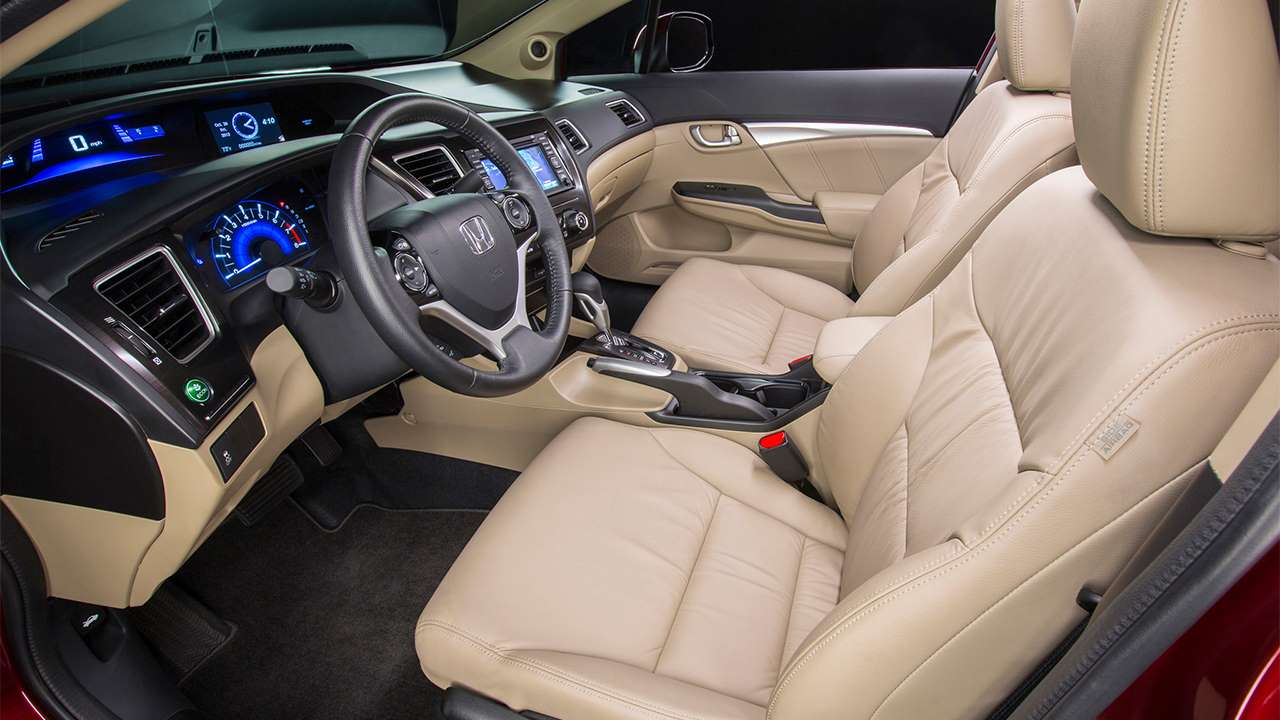 Передние сиденья Civic 9