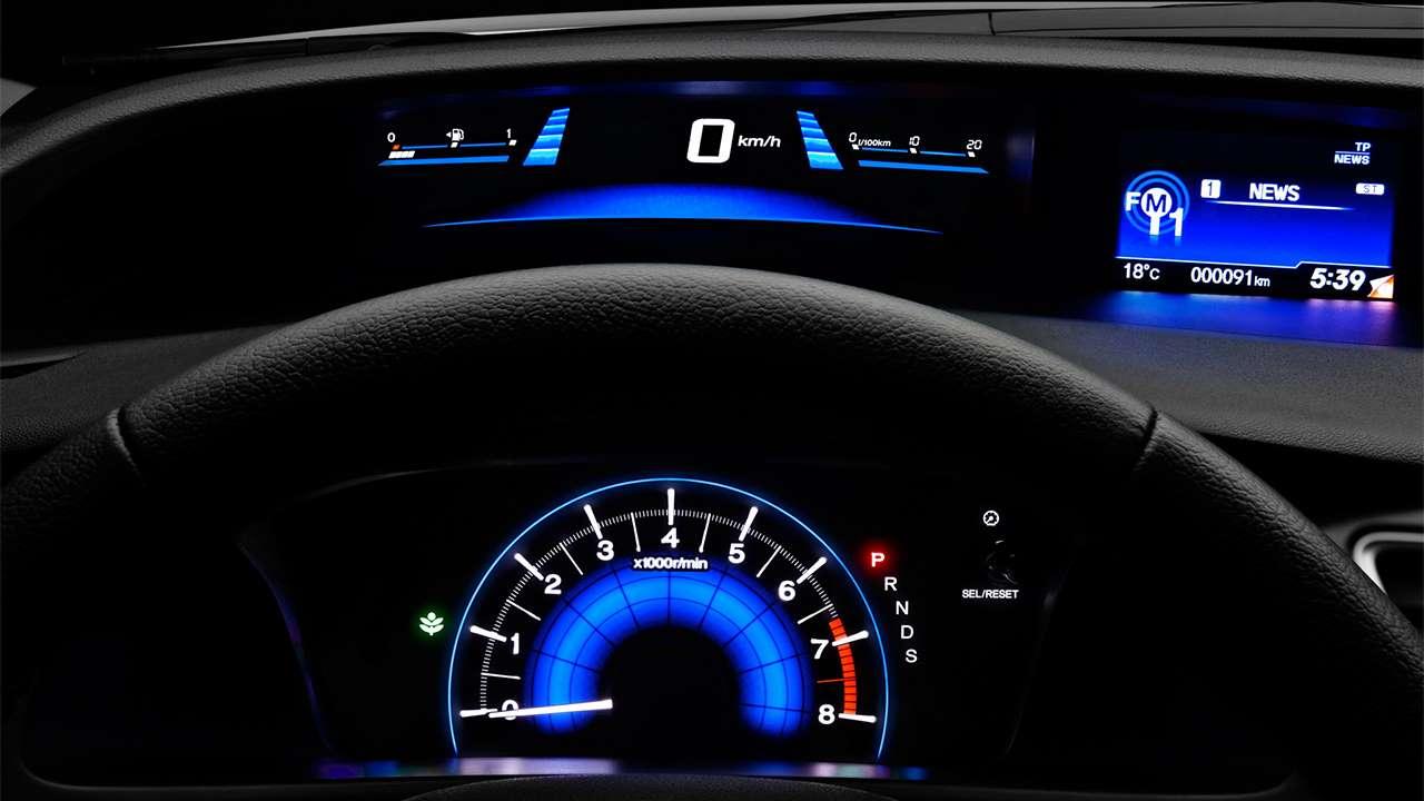 Панель приборов Civic 9