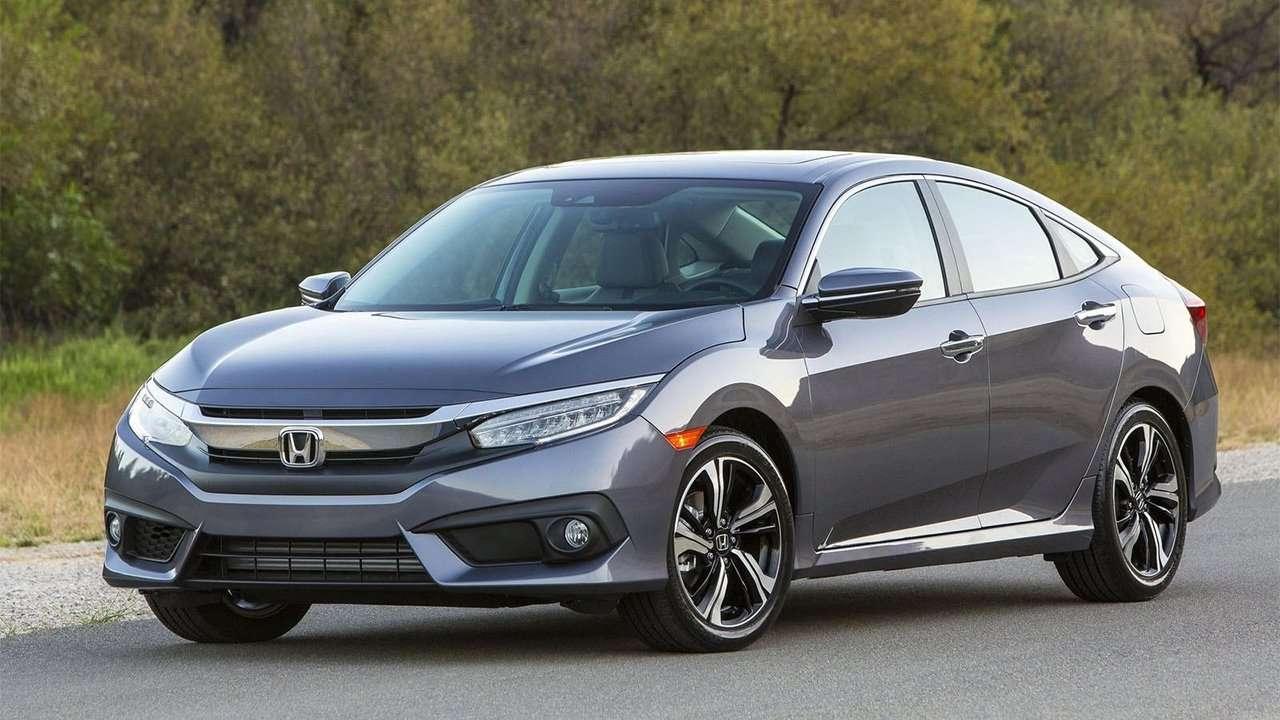 Honda Civic 2019-2020 фото спереди