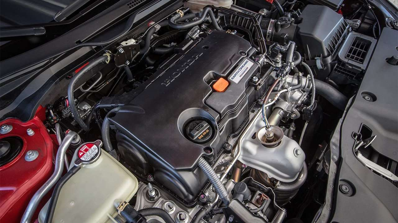 Фото двигателя Хонды Цивик