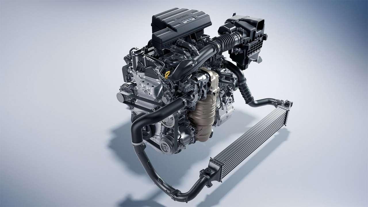 Двигатель Honda CR-V 2020-2021