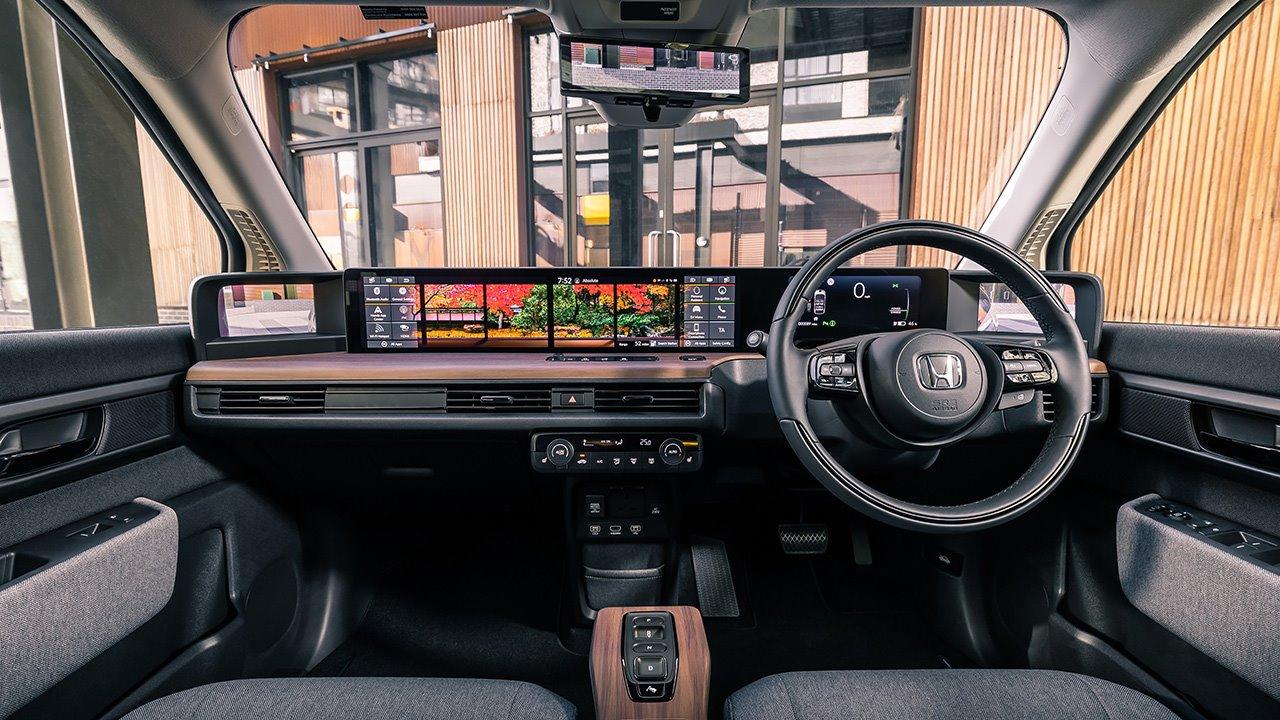 Салон Honda E 2021