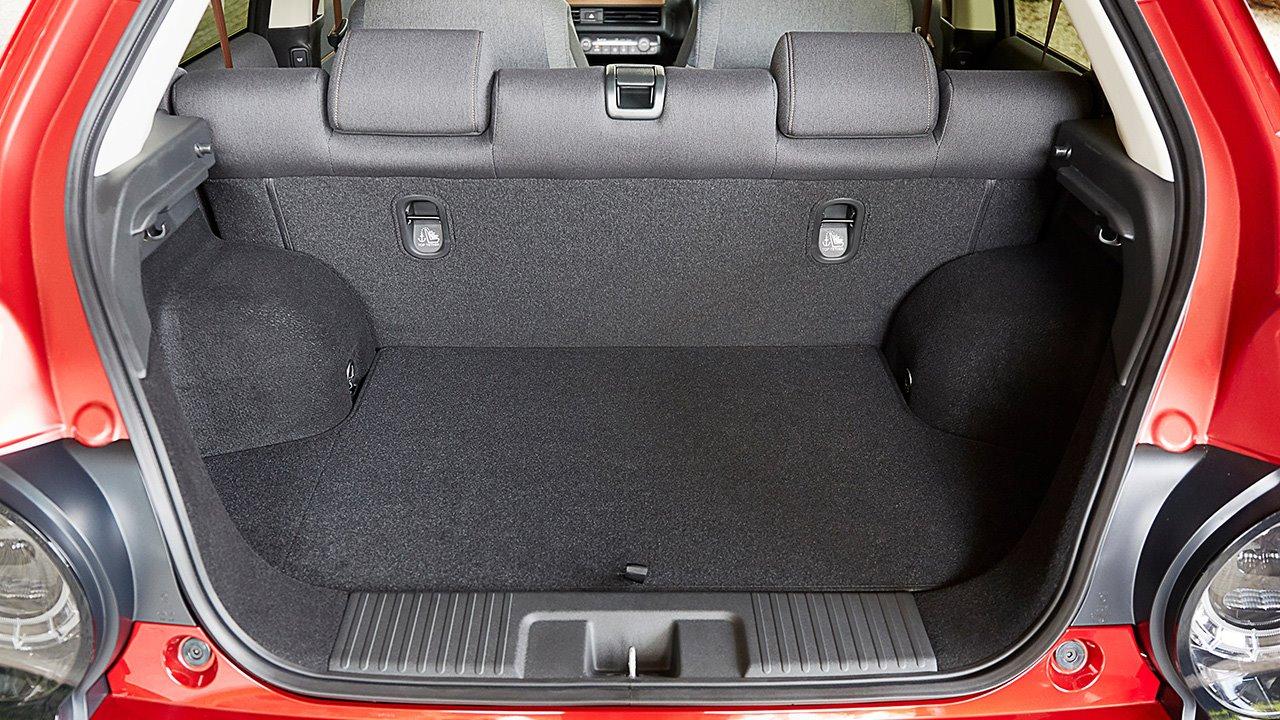 Фото багажника Хонда е