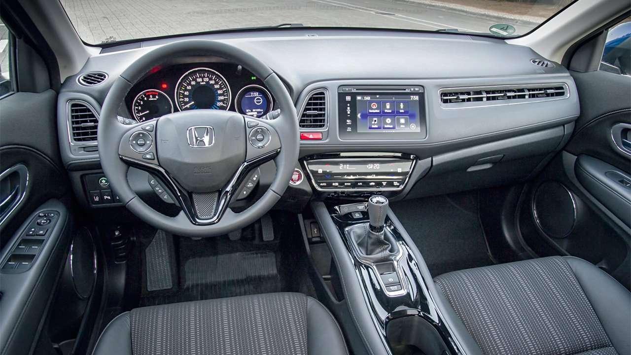 Фото салона Honda HR-V 2019-2020