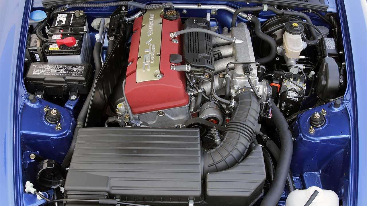 Фото двигателя Хонды