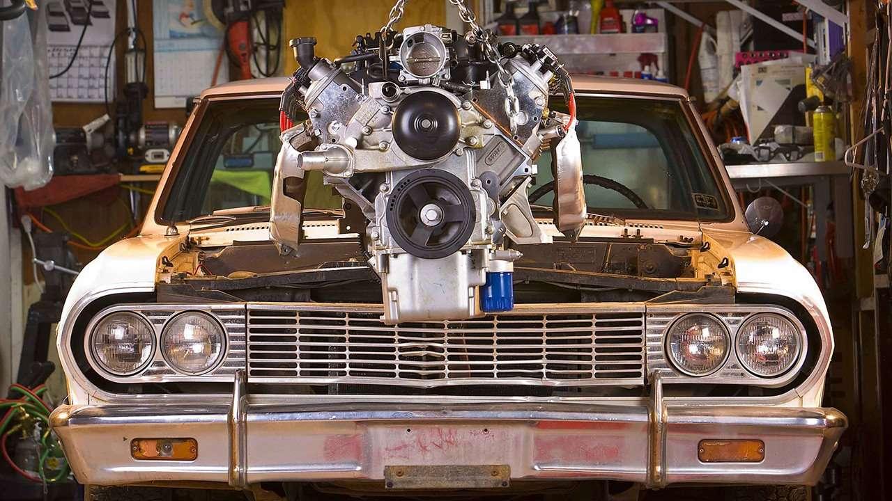 Как заменить двигатель автомобиля?