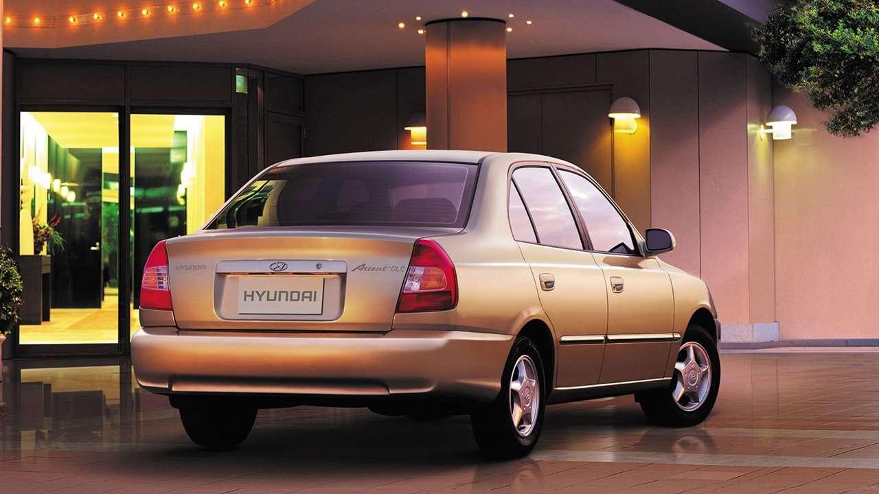 Hyundai Accent 2008 LC фото сзади