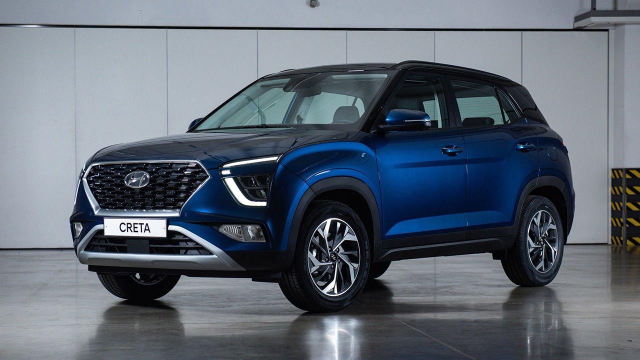 Передок новой Hyundai Creta 2021