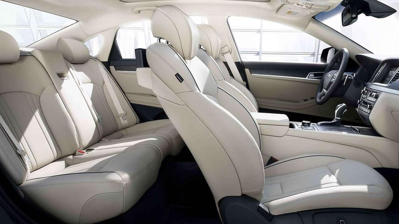 Hyundai Genesis 2016-2017 G80 сиденья