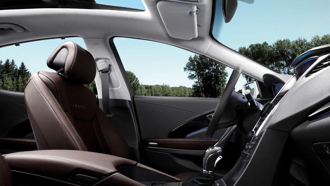 Hyundai Grandeur 2016-2017 HG интерьер