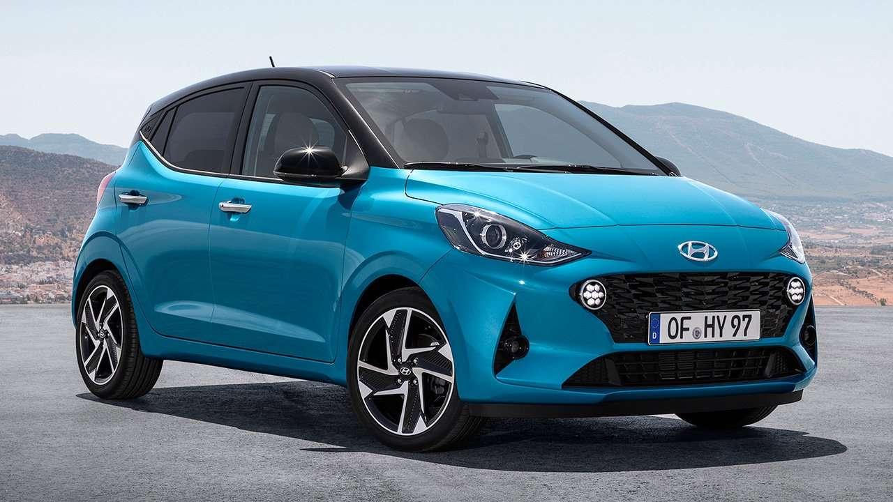 Hyundai i10 2019-2020 фото спереди