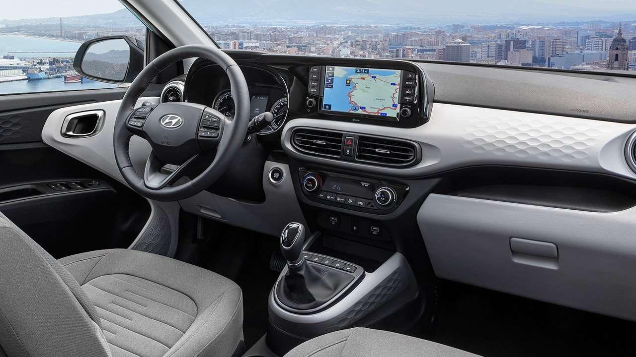 Салон Hyundai i10 2019-2020