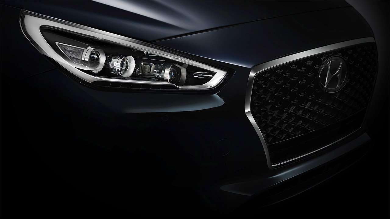 Фара нового Hyundai i30