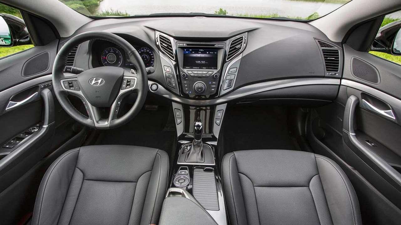 Салон Hyundai i40