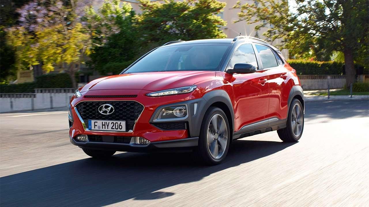 Hyundai Kona 2020-2021 фото спереди