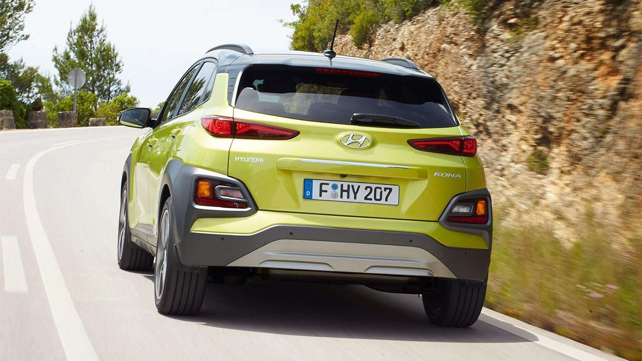 Корма Hyundai Kona 2020-2021