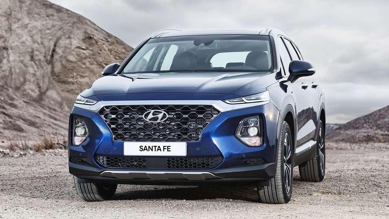 Hyundai Santa Fe 2020-2021 фото спереди