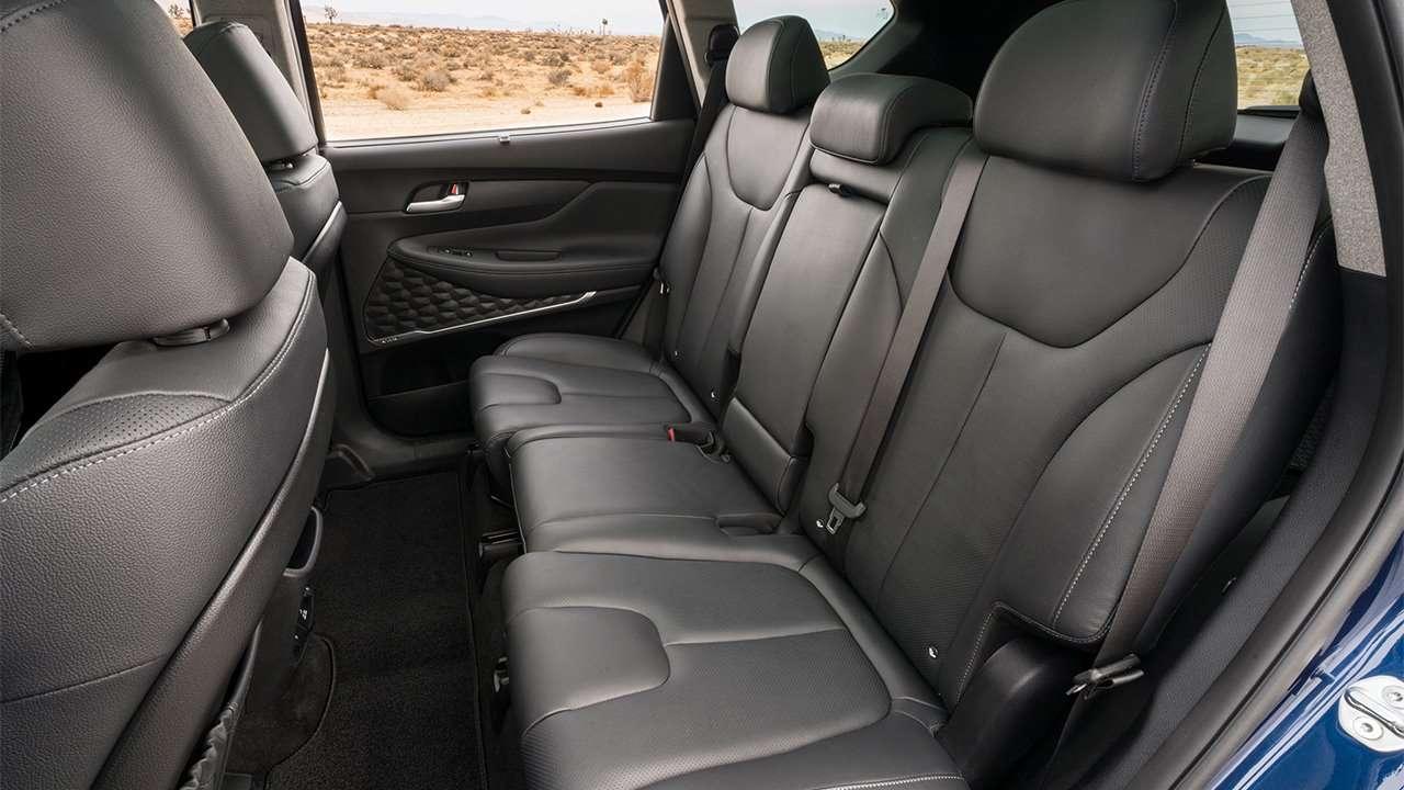 Задний диван Hyundai Santa Fe 2020-2021