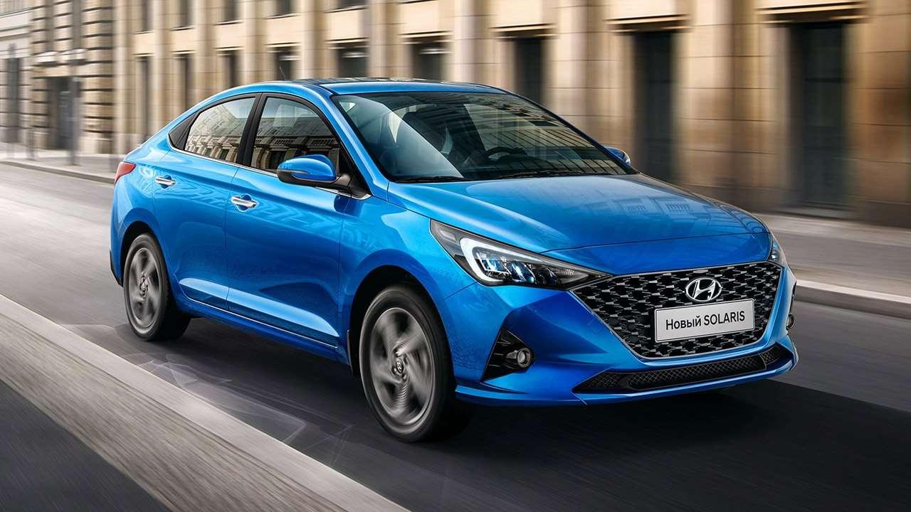 Hyundai Solaris 2020 фото спереди