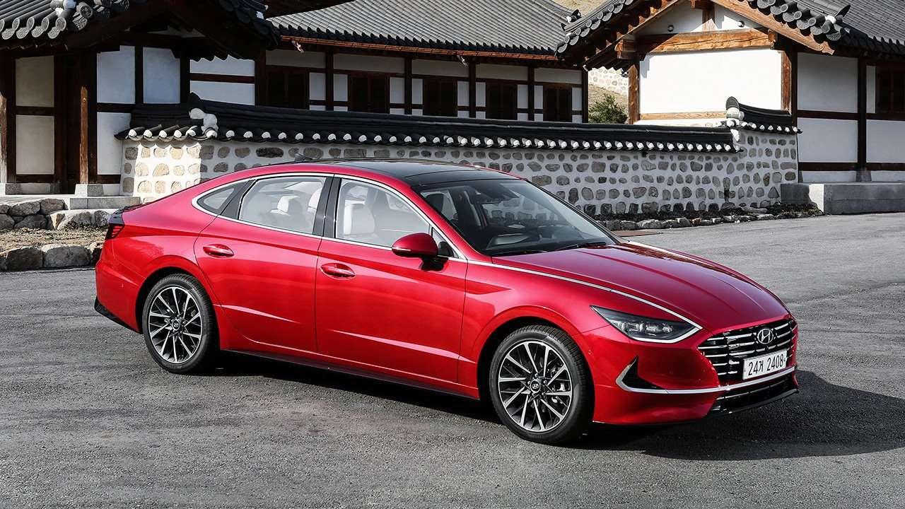 Hyundai Sonata 2018-2019 фото спереди