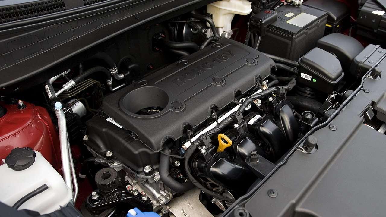 Бензиновый двигатель Hyundai Tucson TL дорестайлинг